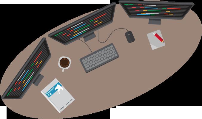 Computer Code Background